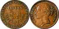Irish Post office coin